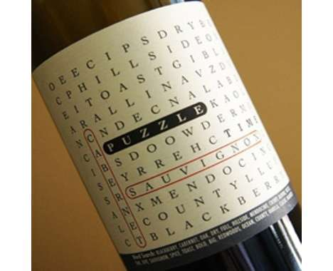 From Braille Wine Bottles to Crossword Puzzles on Labels