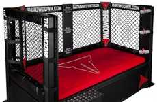 Boxing Ring Beds - The Throwdown Bed is a Wrestling Ring for a Little Fighter