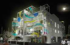 Glowing Abstract Abodes