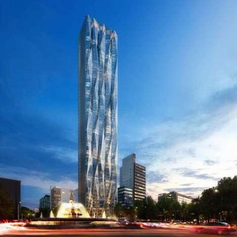 Crystal Spire Skyscrapers