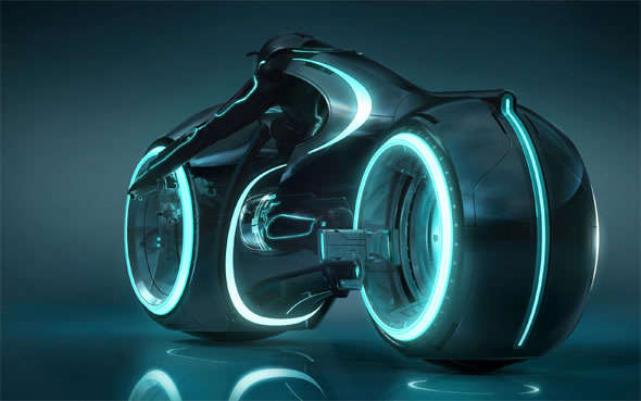 Sci-Fi Motorcycle Replicas