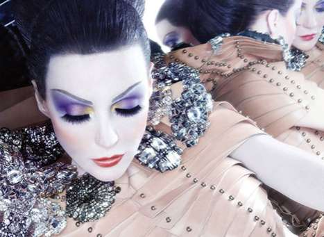 Porcelain Doll Advertorials - The Intensly Opulent Daphne Guinness NARS Campaign
