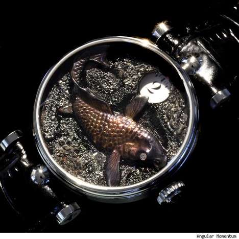 Luxurious Fishy Timepieces