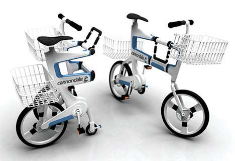 The Ville Bicycle Shopping Cart Lets You Transport Your Purchases Home