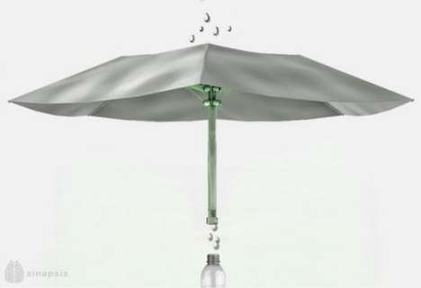 Water Purifying Umbrellas
