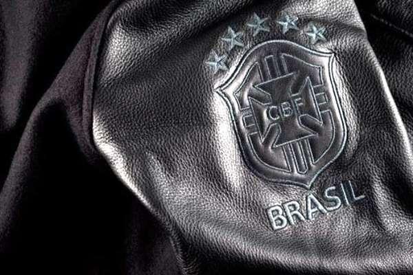 578c84e7f Sporty Leather Jackets : Nike Brazil Destroyer Jacket