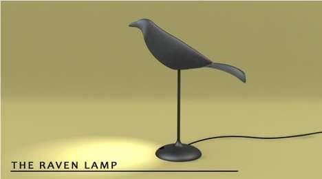 Poetic Bird Lighting