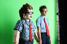 8-Bit Costumes - A Low Res 'Gary' Made By Kiel Johnson and Klai Brown