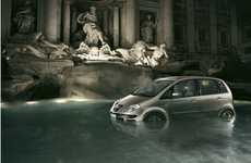 Computerized Auto Ads - Fulvio Bonavia Makes Amazing Car Campaigns