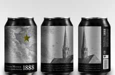 Landmark Packaging - The Estrella Damm Beer Packaging by Erik G. de Lopidana Ties in History