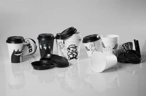 Mono-Hued Coffee Mugs