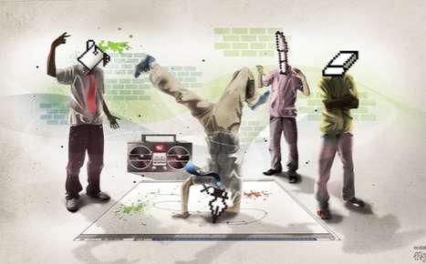 Digitalized Breakdancing Art