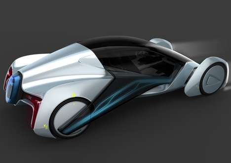 Futuristic Eastern Sedans - Glidex 2020 Concept Vehicle is Specially Designed for Chinese Roads