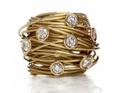 Bejeweled Ring Nests