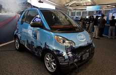 Tattletale Eco-Cars - The Intel Connected Smart Car Spills the Beans to Police and Insurers