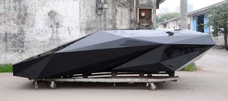 Pixelated Luxury Cars