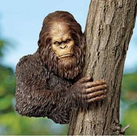 Monstrous Tree Accessories - The Bigfoot Tree Sculpture is for Sasquatch Super Fans