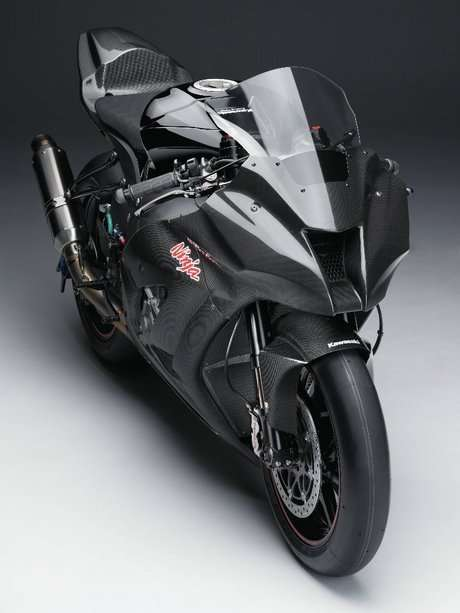 Kawasaki has Unveiled the Image of the 2011 Ninja ZX-10R