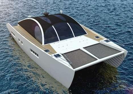 Self-Sufficient Catamarans