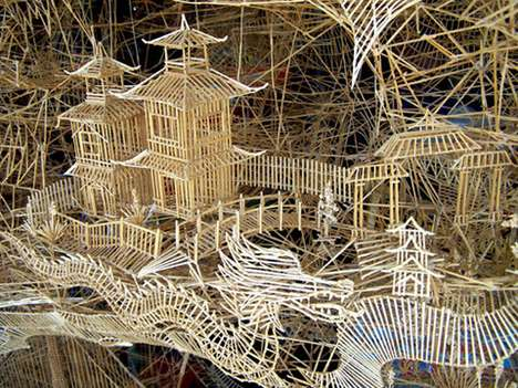 Scott Weaver's San Francisco Toothpick City is an Amazing Display of Art