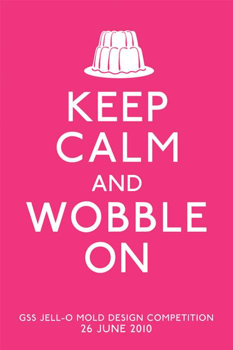 The Jell-O Mold Competition Wants You to Keep Calm and Wobble On