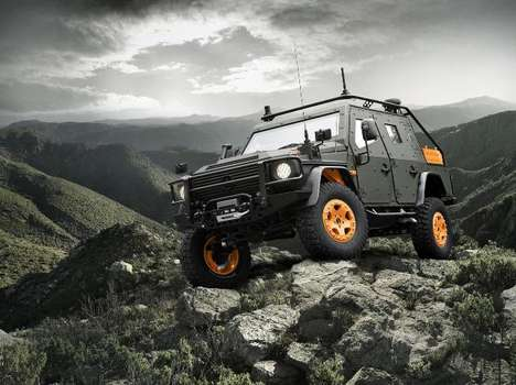 Combat-Ready Luxury Wagons - The Mercedes-Benz G-Wagon Debuts in France