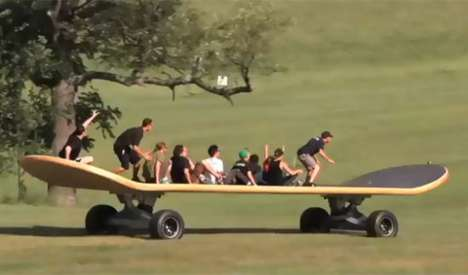 Super-Sized Skateboards