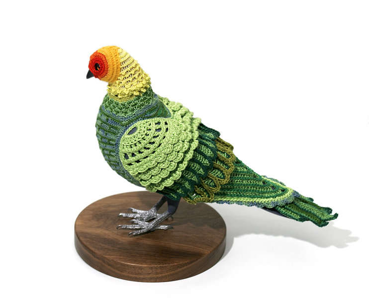 Crochet Bird Clothing
