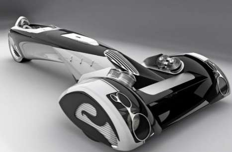 Razor-Sharp Rides - The Egochine B by Paolo De Giusti Looks Inspired by Men's Shavers