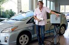 Plug-In Auto Dealerships - LAcarGuy is the First Dealer to Have Level 2 Electric Car Charging