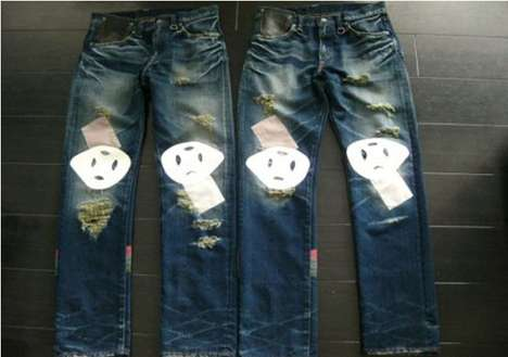 People-Faced Pants