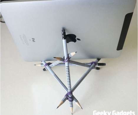 Stationery iPad Stands