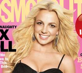 Britney Spears' Cosmo Cover is a Good Example of Bad Photoshop