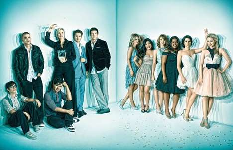 Glee Has 19 Emmy 2010 Nominations and Sparkles in Emmy Mag