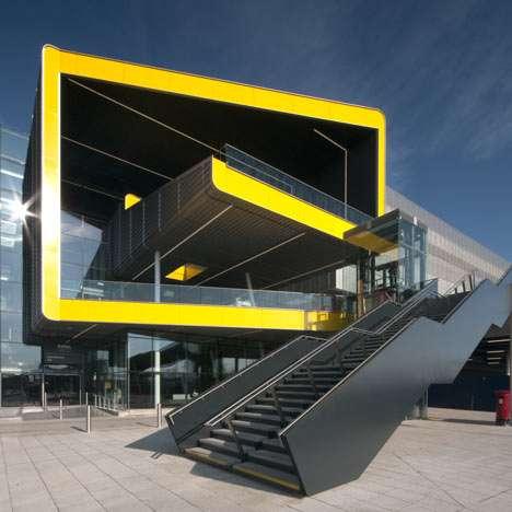 Yellow Blockline Buildings
