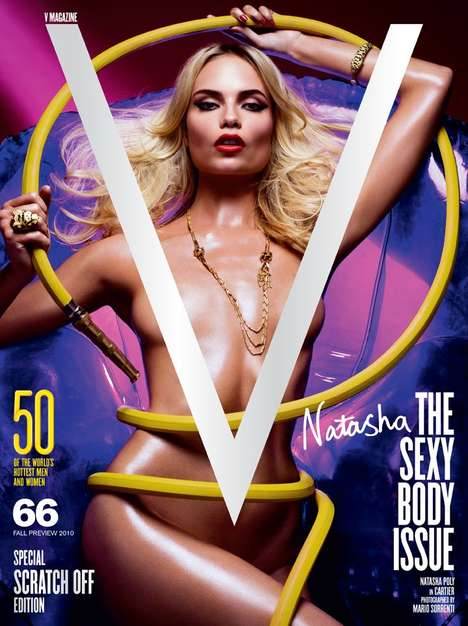 The V Magazine 'Sexy Body' Issue has 5 Covers to Chose From