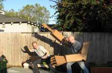 Recyclable Claw Costumes - Giant Cardboard Robot Arms Will Make You the Baddest Bully on the Block