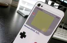Game Boy iPhones (UPDATE) - The iBoy Skin is a Blast From the Past for Your iPhone 4