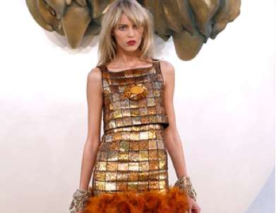 Metal-Plated Frocks
