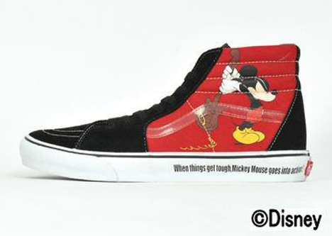 Mousey High Tops