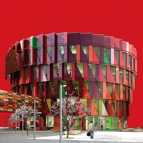 Green Architecture in Red