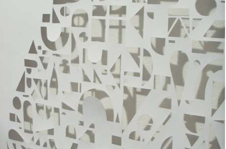 Cut-Out Paper Walls