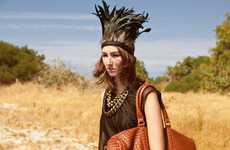 Contemporary Tribal Headdresses - Feather Children Headpieces are Uniquely Handcrafted