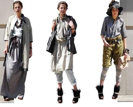 Asian Fishermen Fashion