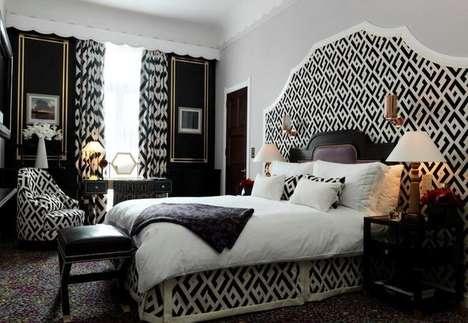 Animal-Skinned Hotel Rooms