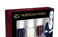 'Addams Family' Nails - The Essie Morticia Nail Polish has a Deep, Dark Look