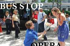 Public Transit Operas - The Bus Stop Opera Adds Culture to Your Commute