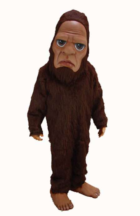 Supersized Sasquatch Outfits - Wear a Bigfoot Costume to Your Next Halloween Party