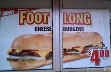 Footlong Cheesburgers