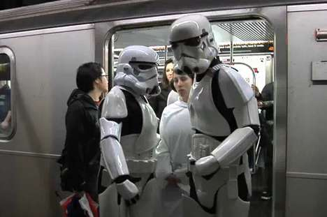 Star Wars Subway Attacks